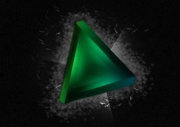 GREEN-triangle by digitalrich