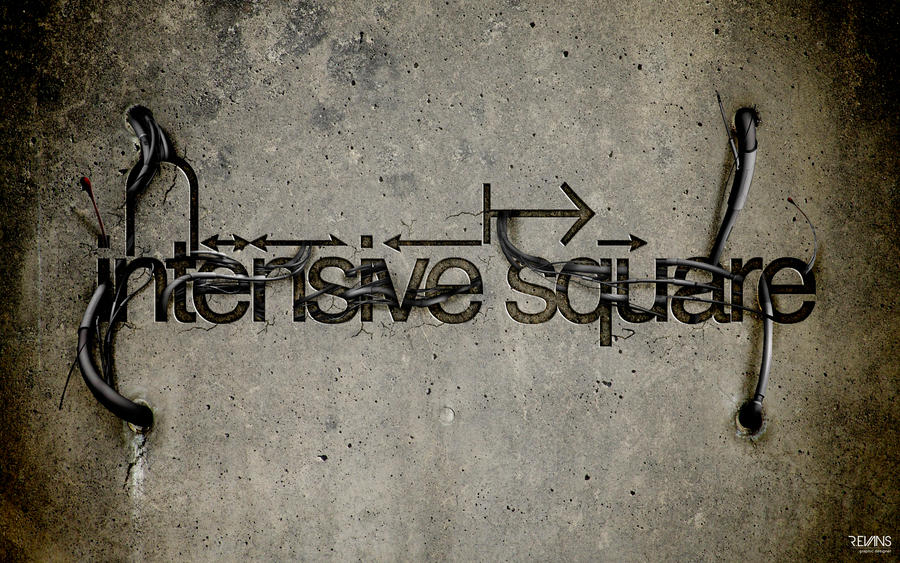 intensive square wallpaper by digitalrich