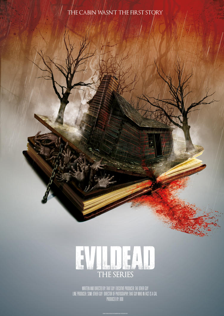 Evil Dead Poster by digitalrich