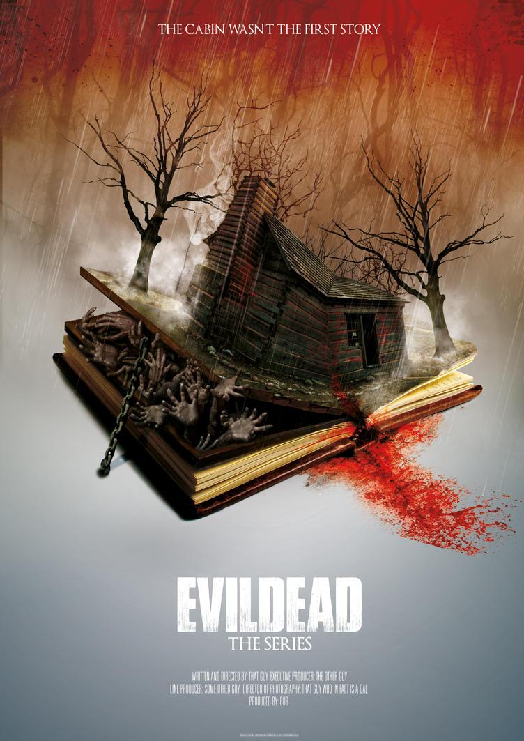 Evil Dead Poster by digitalrich