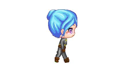 Pixel Girl Pandora by xxxxmel
