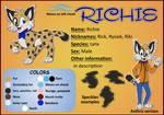 Richie - reference sheet