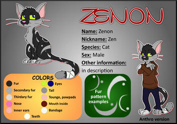 Zenon - reference sheet