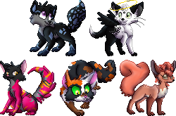 Sprites Commission for J.B. by Adamiro