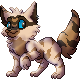 Raccoonfluff Sprite by Adamiro
