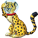 Space Cheetah Sprite (commission) by Adamiro