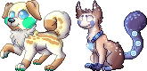 Sprites Commission for Babicted by Adamiro