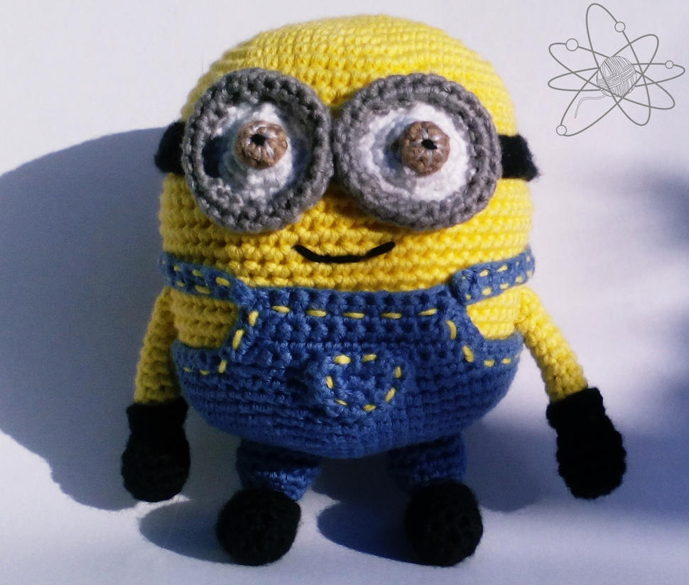 Amigurumi Fan Club Minion : Minion Bob by atomigurumi on DeviantArt