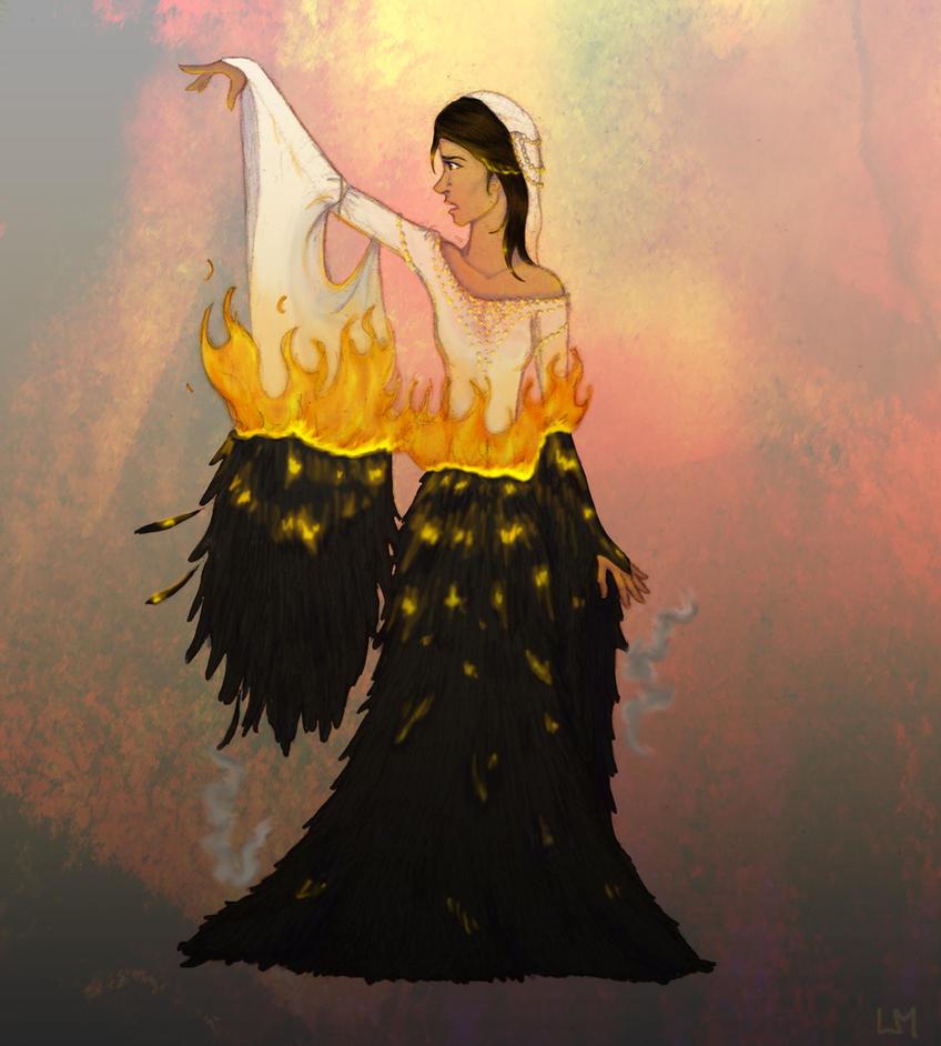 [Job Annexe] Une robe pour le défilé Mockingjay_dress_by_xxexplodingrosesxx-d3djoy1