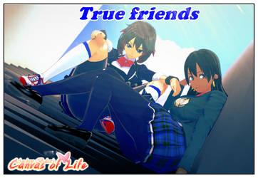 True friends by AndrewBaker69