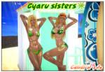 Gyaru sisters 3 by AndrewBaker69