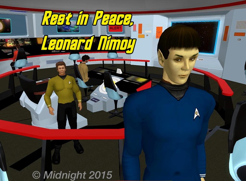 Leonard Nimoy Tribute by Midnight by DarkMsStress