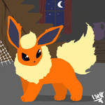 Flareon in Old Chateu