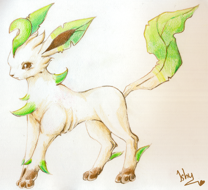 Realistic Leafeon on Behance
