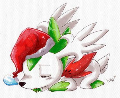 Sleepy Christmas. by Ishisu
