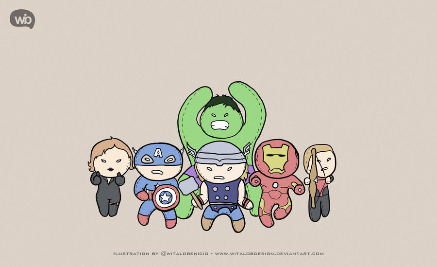 WallPaper Puppet Avengers By WitaloBDesign