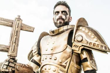 Dwemer Armor Cosplay 3 by Nerv-0