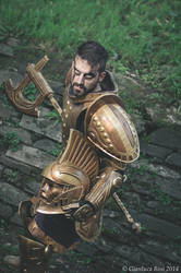 Dwemer Armor Cosplay 7 by Nerv-0