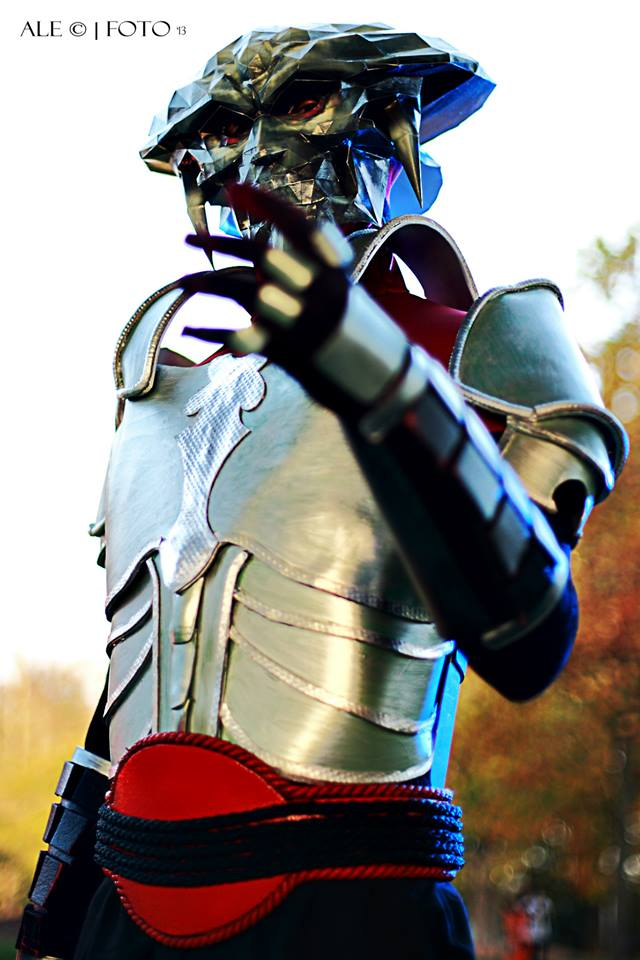 yoshimitsu and kunimitsu on tekken cosplay club deviantart
