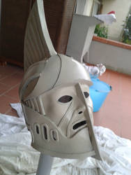 Dwemer Helmet WiP 2