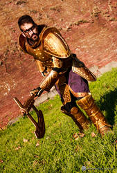 Dwemer Armor Cosplay 9 by Nerv-0