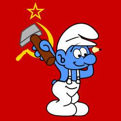 Communist Smurf