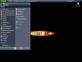Desktop as of 22nd May 2007