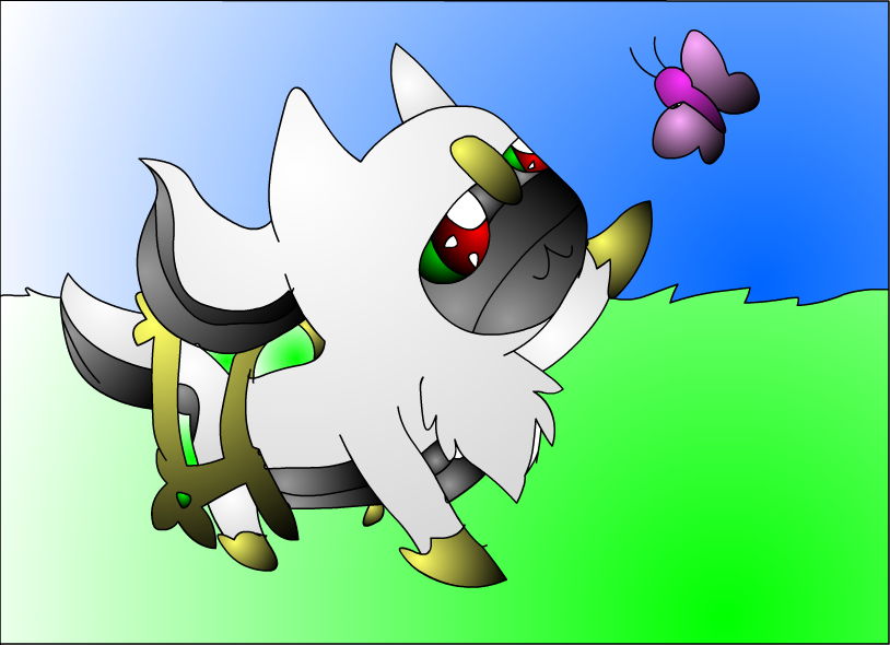 pokemon how to draw chibi arceus