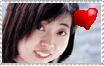 Megumi Hayashibara Stamp by SoraSheimi