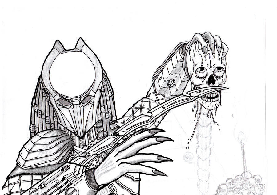predator coloring pages - photo#35