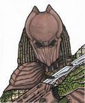 predator falconer concept