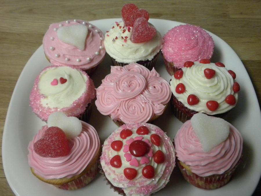 cute valentine's day cupcakesnaomiknight17 on deviantart, Ideas