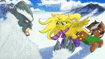 Ticket And Star Sparkler Fight A Yeti
