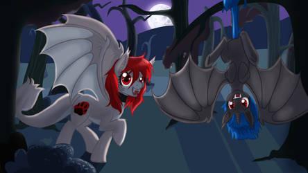 Bat Ponies for Scylla by NaomiKnight17