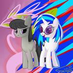 Octavia and Vinyl by Ser-P