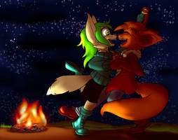 Fireside Watchamacallit Dance by Daaberlicious