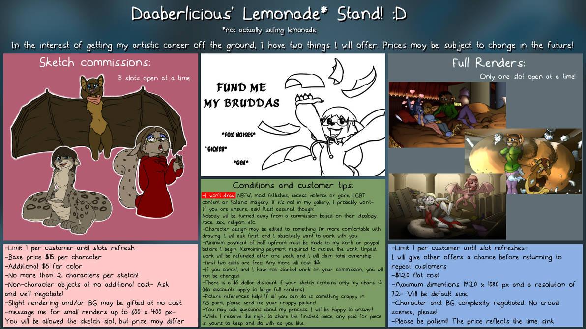 Daaberlicious Lemonade* Stand!