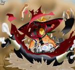 Naruto sage vs Pain