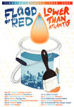 Flood of Red Tour Poster