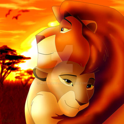 mufasa and sarabi are in love by anjali2010 on deviantart