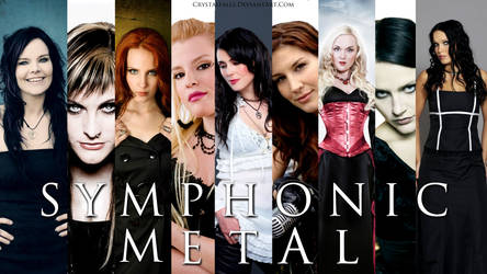 Symphonic Metal Wallpaper by crystalfalls