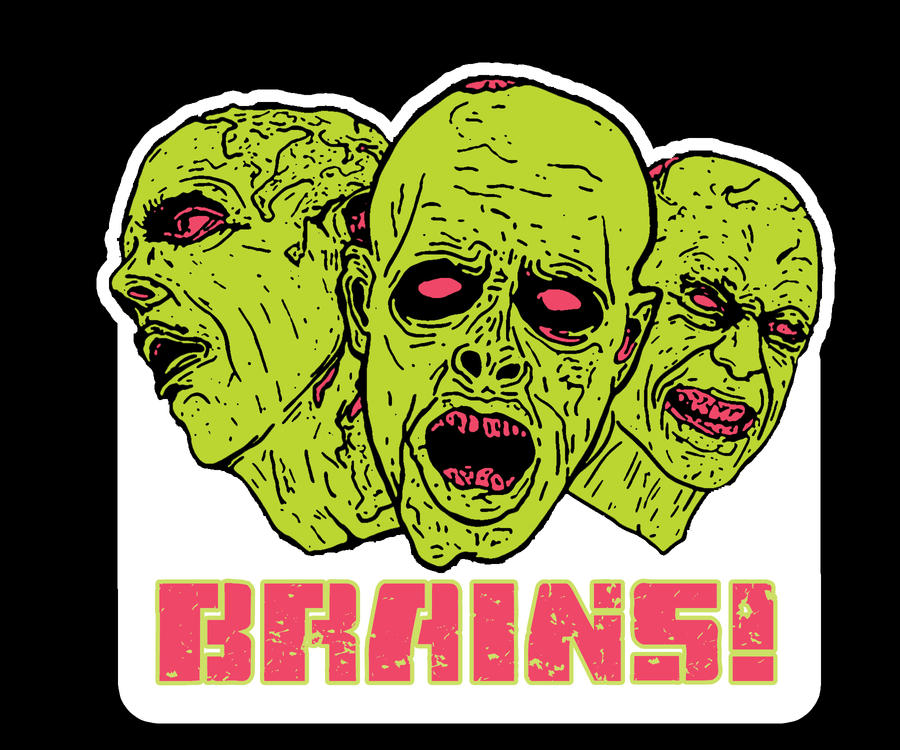 Zombie sticker by whatsyourbozo