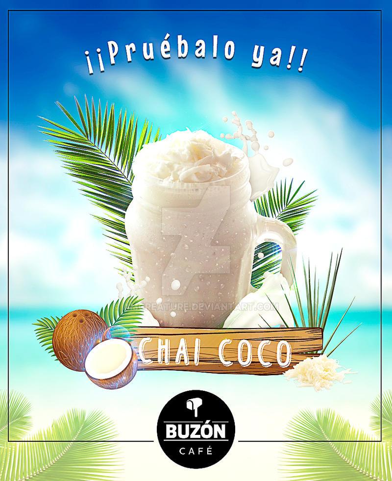 Bebida coco by amCreature