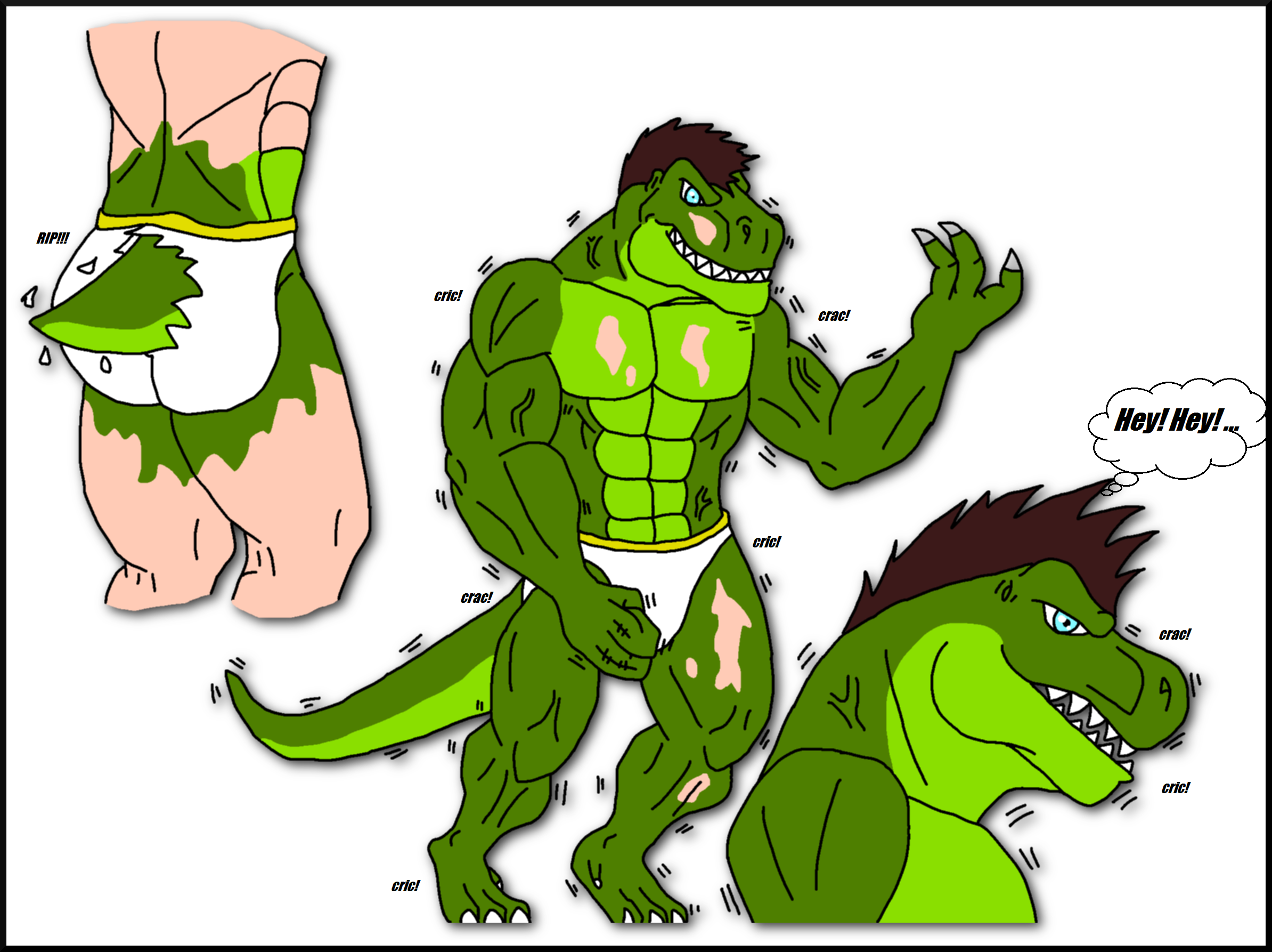 My T.Rex Transformation Pg. 23 by DJDinoJosh on DeviantArt
