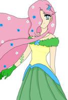 Fluttershy-Gala by SailorLunarAngel