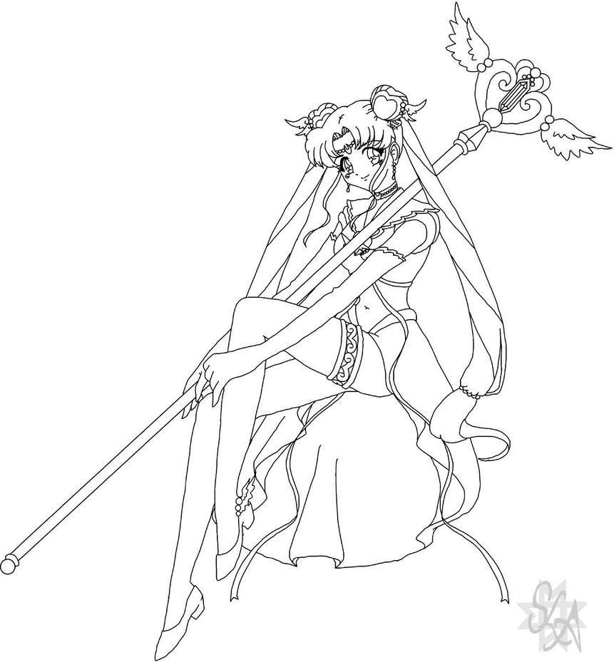 princess sailor moon coloring pages - photo#15