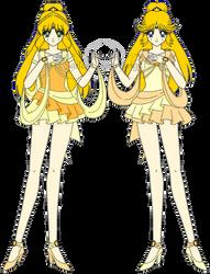 Muse Senshi, Sailor Asma and Sailor Armonia