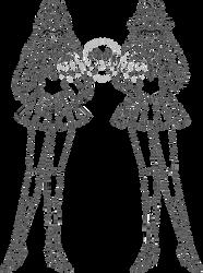 Gladiator Sailor Asma and Sailor Armonia - Lines