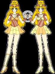 Gladiator Senshi, Sailor Asma and Sailor Armonia