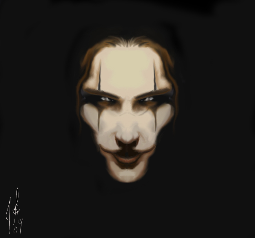 The Crow Darkness by assassin-10